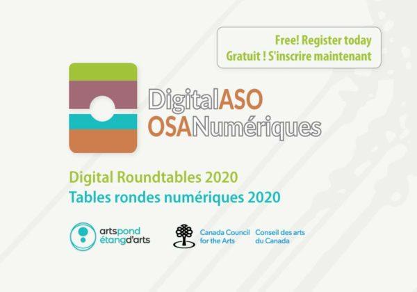 Digital Roundtables 2020 / Tables rondes numériques 2020